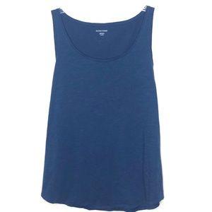 Eileen Fisher Blue cotton tank top XL